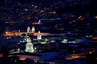 Quito seen from above